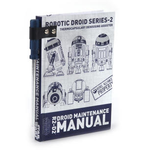 Star Wars R2 D2  Droid Maintenance Manual Notebook Thumbnail 7