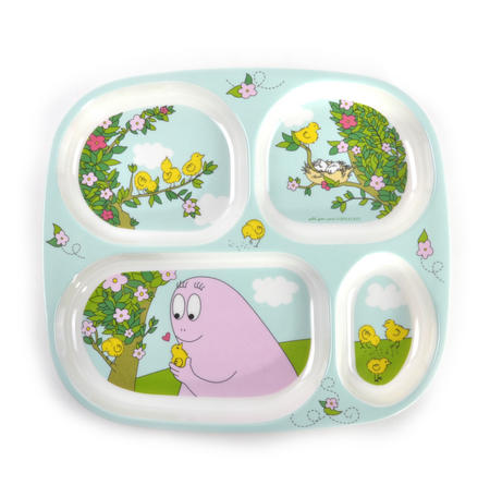 Barbapapa 4 Compartment Serving Tray