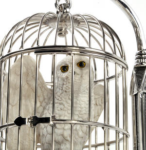 Hedwig and Cage  - Harry Potter Replica by Noble Collection Thumbnail 2