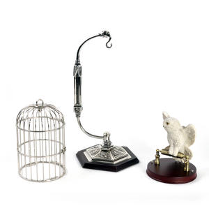 Hedwig and Cage  - Harry Potter Replica by Noble Collection Thumbnail 8