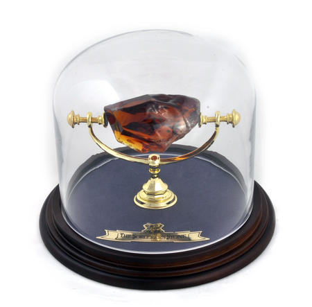 Philosopher's Stone / Sorcerer's Stone in Glass Display Case  - Harry Potter Replica by Noble Collection