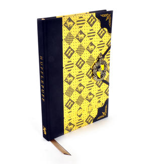 Harry Potter Hufflepuff Premium Journal Notebook - Noble Collection Thumbnail 1