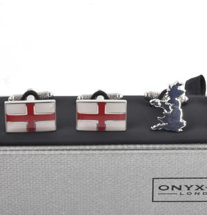 Three Pair Cufflinks Set - United Kingdom (UK) Thumbnail 4