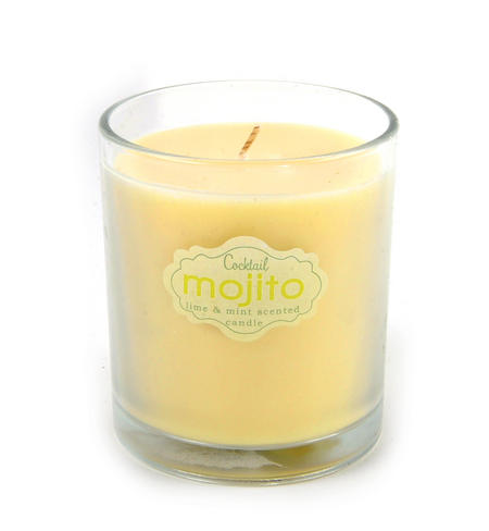 Cocktail Mojito Candle - Lime and Mint Scented Candle