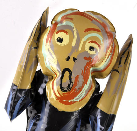 Edvard Munch's The Scream Inflatable Toy
