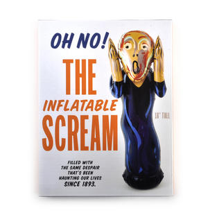 Edvard Munch's The Scream Inflatable Toy Thumbnail 3