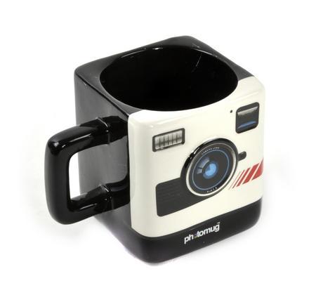 Retro Camera Square Photo Mug