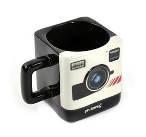 Retro Camera Square Photo Mug Thumbnail 1