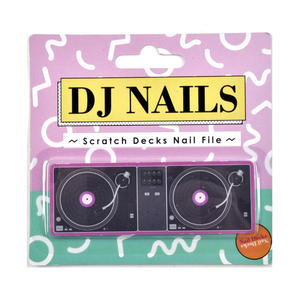 DJ Nails -  Scratch Decks Nail Files Thumbnail 1