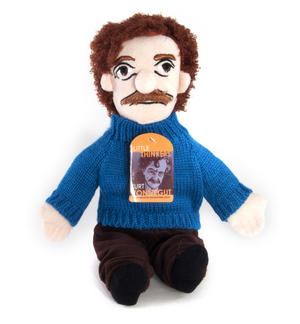Kurt Vonnegut Soft Toy - Little Thinkers Doll Thumbnail 2