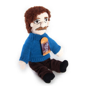 Kurt Vonnegut Soft Toy - Little Thinkers Doll Thumbnail 3