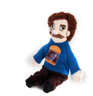 Kurt Vonnegut Soft Toy - Little Thinkers Doll Thumbnail 4