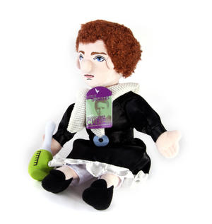 Marie Sklodowska Curie Soft Toy - Little Thinkers Doll Thumbnail 2