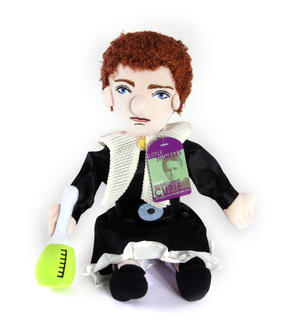 Marie Sklodowska Curie Soft Toy - Little Thinkers Doll Thumbnail 3