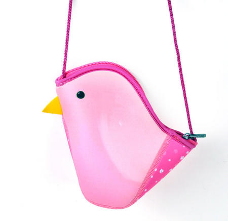Pink Bird Bag By Kori Kumi