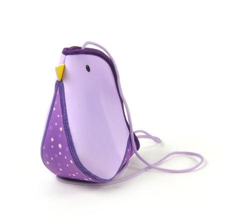 Purple Bird Bag By Kori Kumi