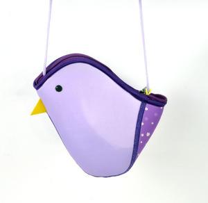 Purple Bird Bag By Kori Kumi Thumbnail 3