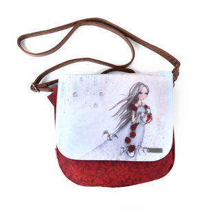 Rose Tea - Shoulder Bag By Mirabelle Thumbnail 1