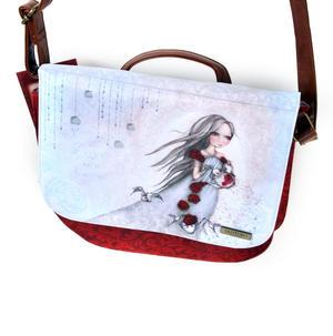 Rose Tea - Shoulder Bag By Mirabelle Thumbnail 6