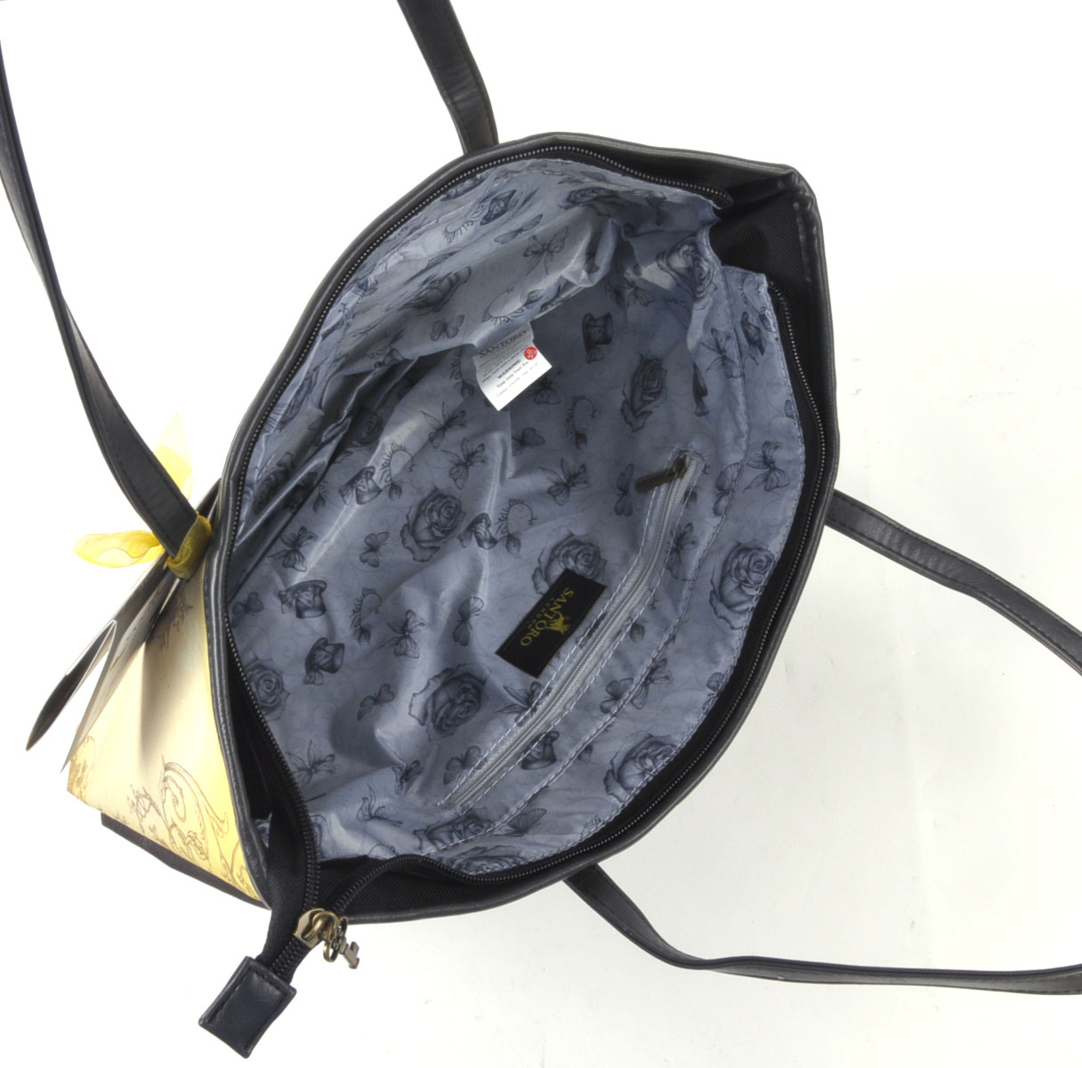 marionette gro einkaufstasche mit rei verschluss von. Black Bedroom Furniture Sets. Home Design Ideas