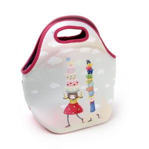Tea Party - Neoprene Lunch Bag By Kori Kumi Thumbnail 1