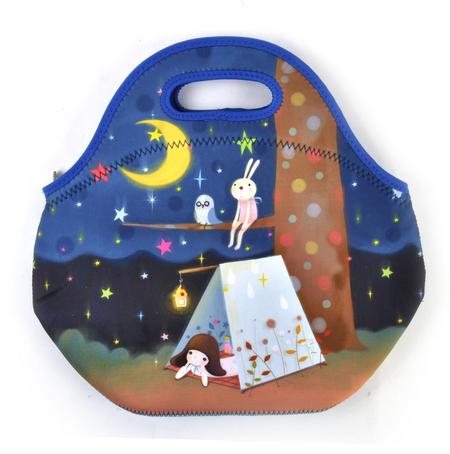 Starry Night - Neoprene Lunch Bag By Kori Kumi