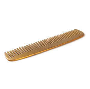 "Brass Plated Comb ""Not a Hair Out of Place"" Grooming Tool Thumbnail 3"