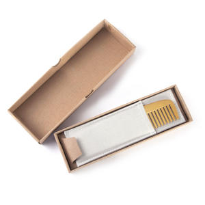 "Brass Plated Comb ""Not a Hair Out of Place"" Grooming Tool Thumbnail 4"