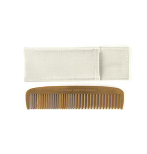 "Brass Plated Comb ""Not a Hair Out of Place"" Grooming Tool Thumbnail 5"
