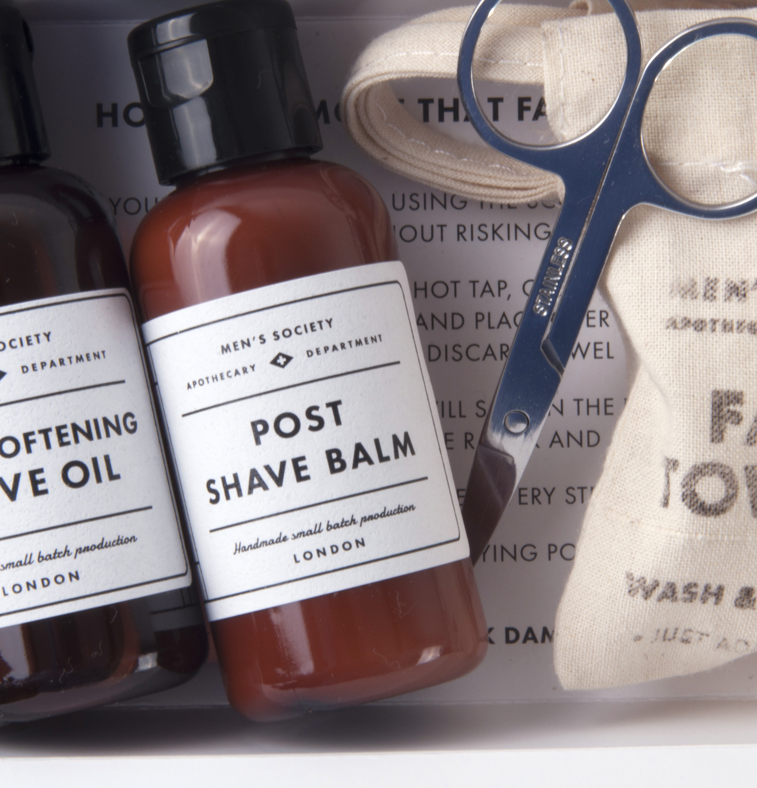 Beard Removal Kit - Handmade Small Batch Production from The Men's Society  Apothecary Department