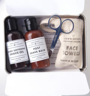 Beard Removal Kit - Handmade Small Batch Production from The Men's Society Apothecary Department Thumbnail 1