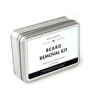 Beard Removal Kit - Handmade Small Batch Production from The Men's Society Apothecary Department Thumbnail 3