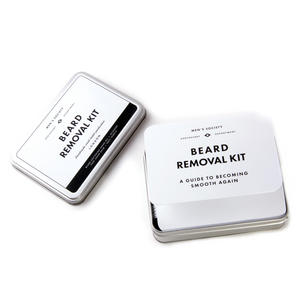 Beard Removal Kit - Handmade Small Batch Production from The Men's Society Apothecary Department Thumbnail 4