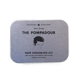 The Pompadour Hair Grooming Kit - Handmade Small Batch Production from The Men's Society Apothecary Department Thumbnail 3