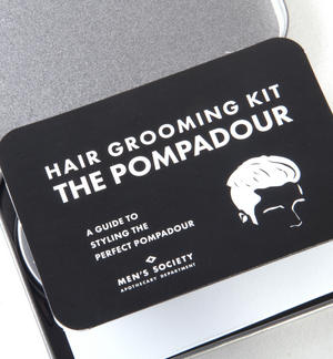 The Pompadour Hair Grooming Kit - Handmade Small Batch Production from The Men's Society Apothecary Department Thumbnail 4
