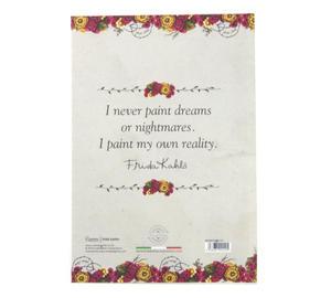 Frida Kahlo - Rose Thorns A5 Hardback Notebook Thumbnail 3