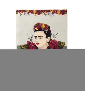 Frida Kahlo - Rose Thorns A5 Hardback Notebook Thumbnail 4