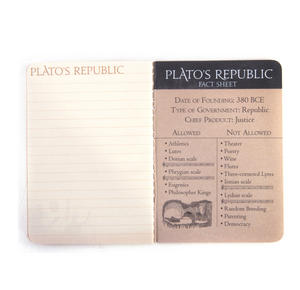Plato's Republic Passport - Ancient Greek Pocket Notebook Thumbnail 5
