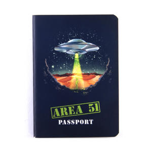 Area 51 Passport - Top Secret Alien Pocket Notebook Thumbnail 1