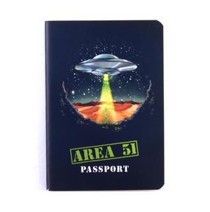 Area 51 Passport - Top Secret Alien Pocket Notebook Thumbnail 1