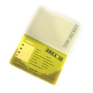 Area 51 Passport - Top Secret Alien Pocket Notebook Thumbnail 3