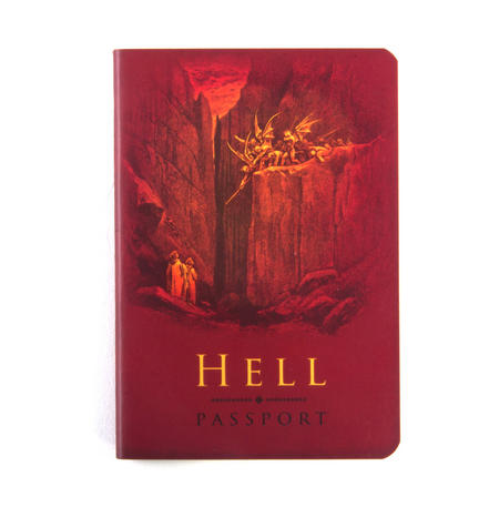 Hell Passport - Diabolical Pocket Notebook