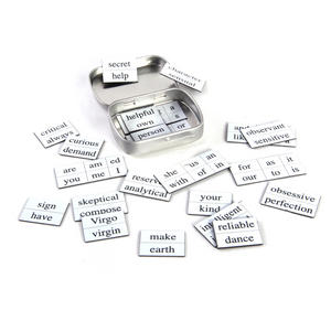 Little Box of Virgo - Word Magnets - The Virgin Fridge Magnet Poetry Set Thumbnail 3