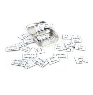 Little Box of Libra - Word Magnets - The Scales Fridge Magnet Poetry Set Thumbnail 3