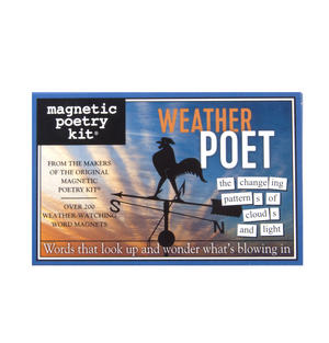 Weather Poet - Fridge Magnet Set - Fridge Poetry Thumbnail 2