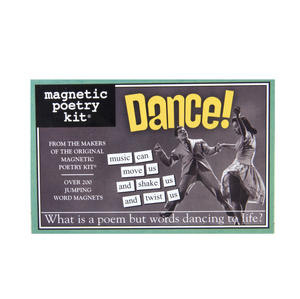 Dance - Fridge Magnet Set - Fridge Poetry Thumbnail 2