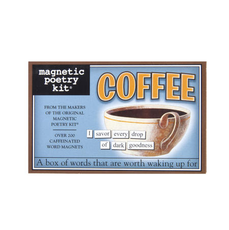 Coffee - Fridge Magnet Set - Fridge Poetry