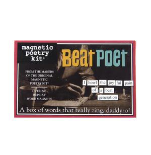 Beat Poet - Fridge Magnet Set - Fridge Poetry Thumbnail 1