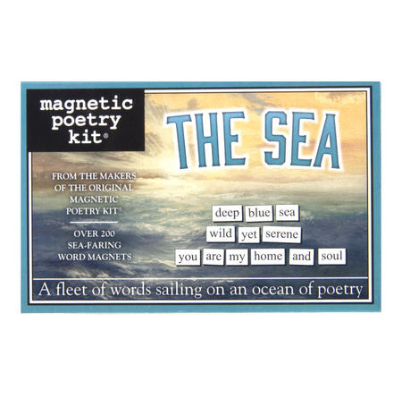 The Sea - Fridge Magnet Set - Fridge Poetry