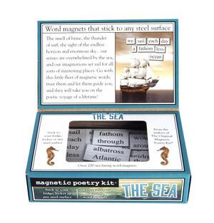 The Sea - Fridge Magnet Set - Fridge Poetry Thumbnail 3